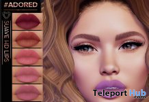 Suave HD lips April 2020 Gift by #adored - Teleport Hub - teleporthub.com