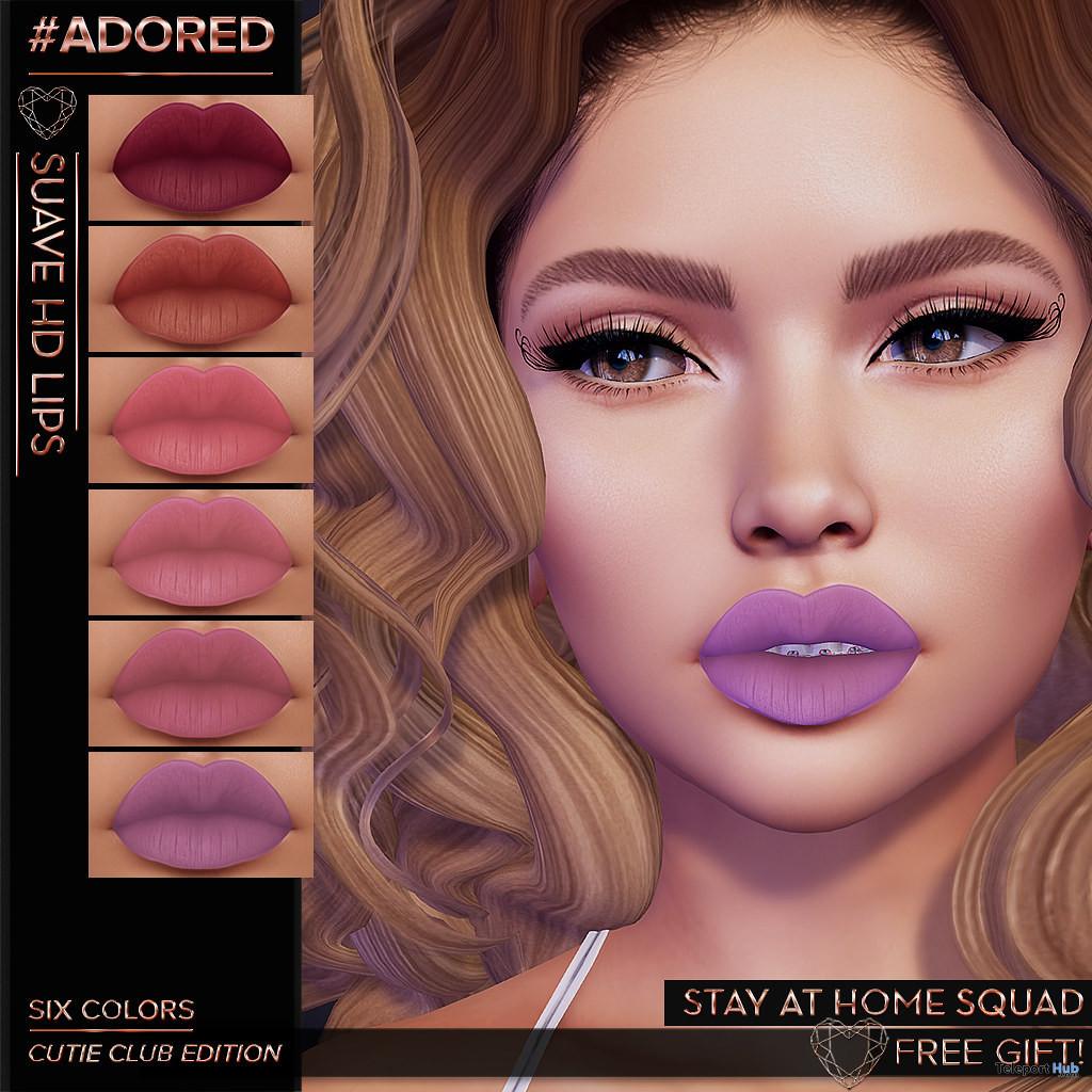 Suave HD lips April 2020 Gift by #adored- Teleport Hub - teleporthub.com