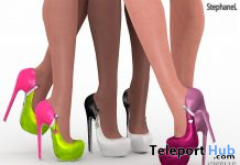 Giselle Heels Fatpack April 2020 Group Gift by StephaneL - Teleport Hub - teleporthub.com