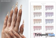 Plastic Stars Nails April 2020 Group Gift by Ascendant - Teleport Hub - teleporthub.com
