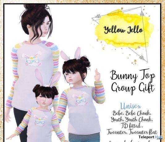 Bunny Top April 2020 Group Gift by Yellow Jello - Teleport Hub - teleporthub.com