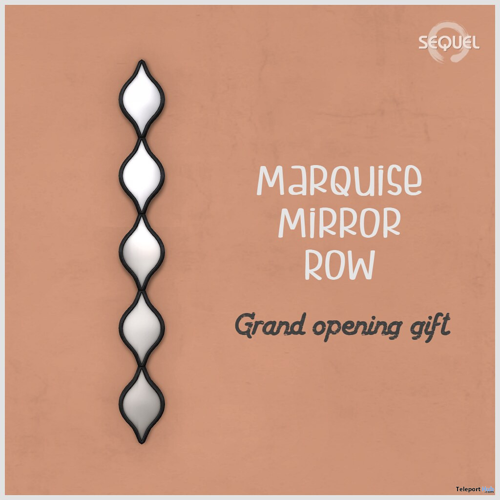 Marquise Mirror Row Grand Opening Gift by Sequel - Teleport Hub - teleporthub.com