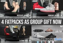 Mathildov, Zlatorovov, Lolitov, & Karmenov Shoes Fatpacks April 2020 Group Gift by VERSOV - Teleport Hub - teleporthub.com