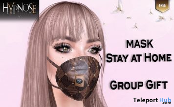 Stay At Home Mask 1L Promo Gift by HYPNOSE - Teleport Hub - teleporthub.com