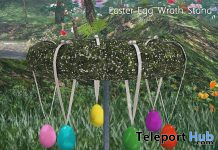 Easter Egg Wrath Stand April 2020 Subscriber Gift by HopScotch - Teleport Hub - teleporthub.com