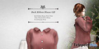 Back Ribbon Blouse Set April 2020 Group Gift by S@BBiA - Teleport Hub - teleporthub.com