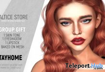 Dotter Skin For Genus Mesh Head & Makeup April 2020 Group Gift by ALTICE STORE - Teleport Hub - teleporthub.com