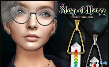 Chakra Necklace April 2020 Gift by VENGE - Teleport Hub - teleporthub.com