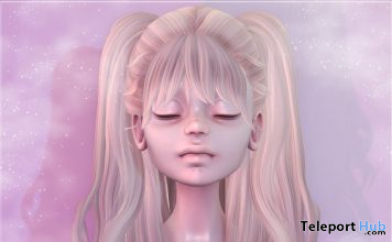 Fiore Hair April 2020 Gift by NYNE - Teleport Hub - teleporthub.com