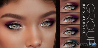 HD Eyeshadow Set For Lelutka Evolution Line April 2020 Group Gift by SlackGirl - Teleport Hub - teleporthub.com