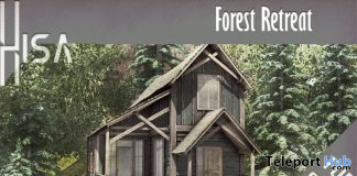 New Release: Forest Retreat by HISA @ Shiny Shabby April 2020 - Teleport Hub - teleporthub.com