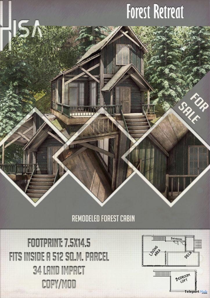 New Release: Forest Retreat by HISA @ Shiny Shabby April 2020 - Teleport Hub - teleporthub.com