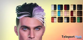 Knox Split Hair Color Pack April 2020 Gift by Exile - Teleport Hub - teleporthub.com