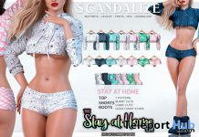 Stay At Home Outfit April 2020 Gift by SCANDALIZE - Teleport Hub - teleporthub.com
