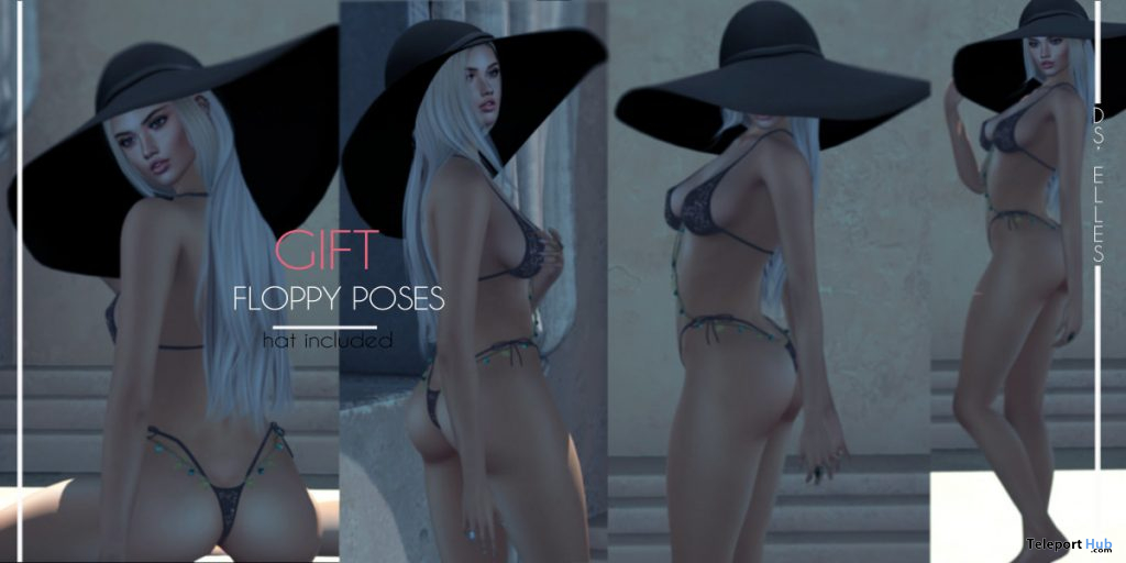 Floppy Poses April 2020 Gift by DS'ELLES - Teleport Hub - teleporthub.com