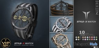 X Watch April 2020 Group Gift by RealEvil Industries - Teleport Hub - teleporthub.com