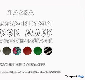 Odor Mask April 2020 Gift by PLAAKA - Teleport Hub - teleporthub.com