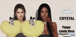 Puppy Candy Floss April 2020 Group Gift by CRYSTAL - Teleport Hub - teleporthub.com