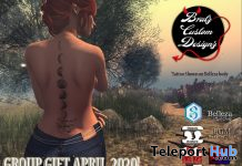 Back Tattoo April 2020 Group Gift by Bratz Custom Designz - Teleport Hub - teleporthub.com
