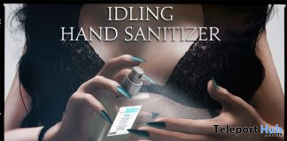 Idling Hand Sanitizer April 2020 Gift by Unfazed x S.Z - Teleport Hub - teleporthub.com