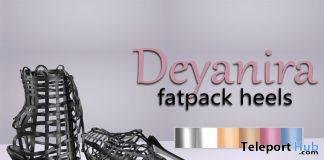 Deyanira Heels April 2020 Group Gift by KAVAK - Teleport Hub - teleporthub.com