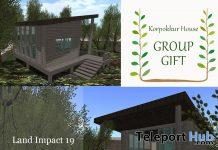 Mini House April 2020 Group Gift by Korpokkur House - Teleport Hub - teleporthub.com