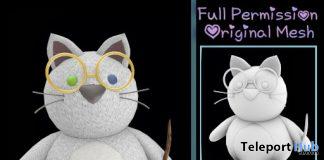 Full Perm Chubby Kitty Wizard Full Perm April 2020 Group Gift by Sherbert - Teleport Hub - teleporthub.com