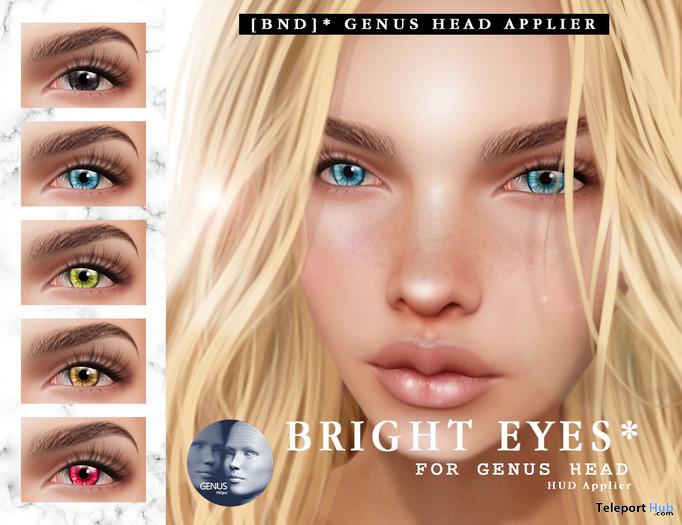 Bright Eyes Applier For Genus Mesh Head 5L Promo by Bird Next Door Shop - Teleport Hub - teleporthub.com