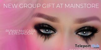 Runny Mascara Eyeshadow April 2020 Group Gift by SOMEONE - Teleport Hub - teleporthub.com