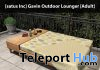 New Release: Gavin Outdoor Lounger by [satus Inc] - Teleport Hub - teleporthub.com