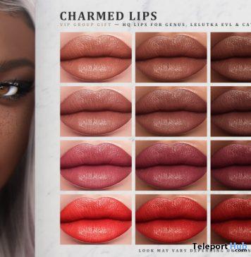 Charmed Lips June 2020 Group Gift by IVES - Teleport Hub - teleporthub.com