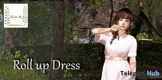Roll Up Dress May 2020 Group Gift by Korpokkur House - Teleport Hub - teleporthub.com