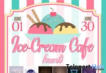 Ice-Cream Cafe Hunt 2020 by Kaleidoscope Island - Teleport Hub - teleporthub.com