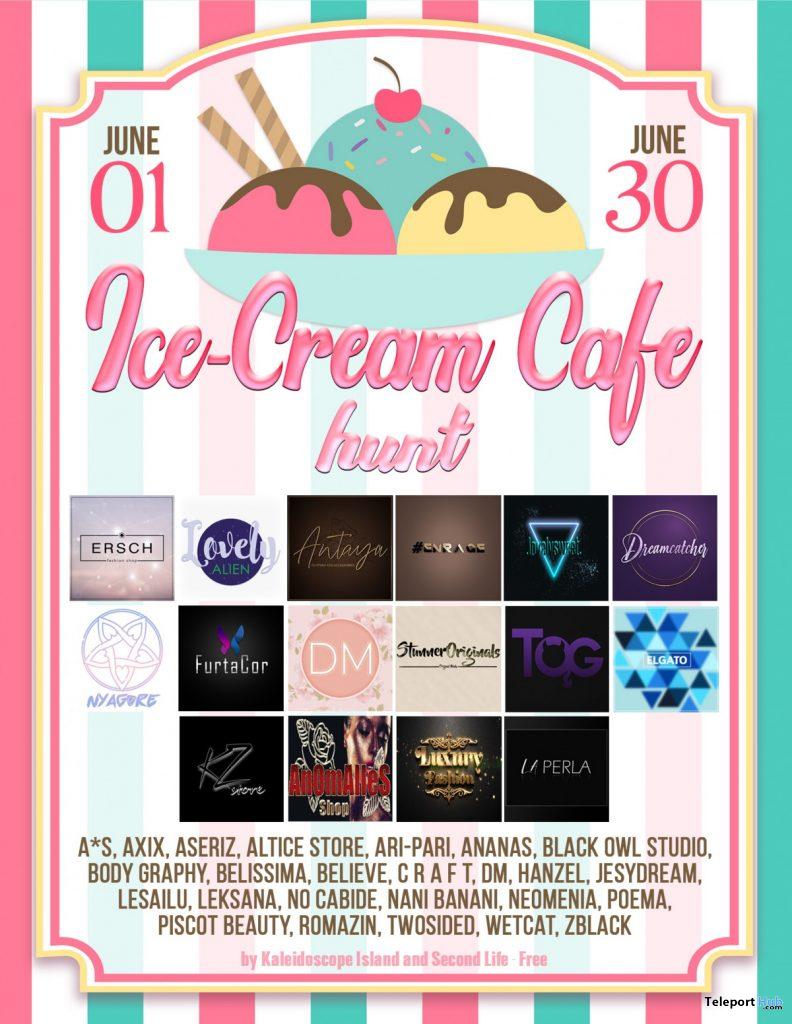 Ice-Cream Cafe Hunt 2020 by Kaleidoscope Island - Teleport Hub - teleporthub.com