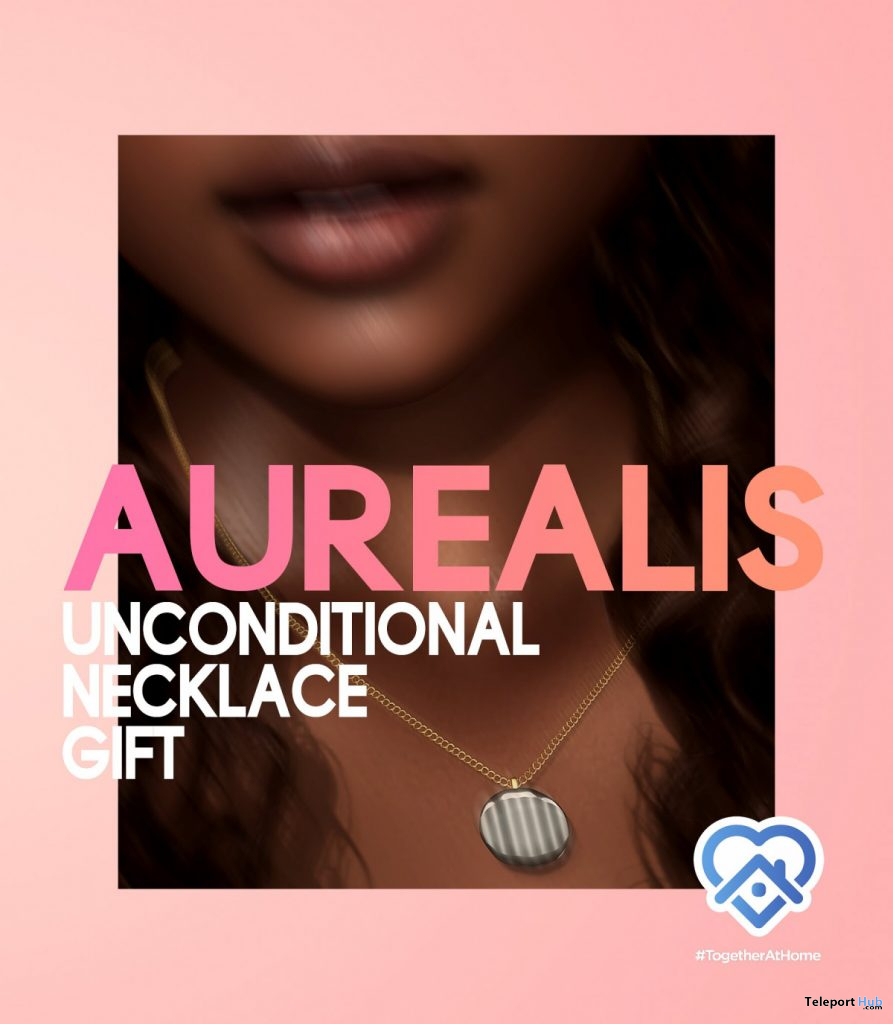Unconditional Necklace May 2020 Gift by AUREALIS - Teleport Hub - teleporthub.com