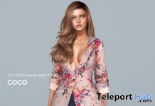 Roll Up Sleeve Blazer May 2020 Group Gift by COCO Designs - Teleport Hub - teleporthub.com