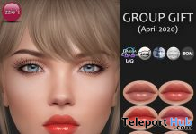 Sheer Lip Gloss May 2020 Group Gift by Izzie's - Teleport Hub - teleporthub.com