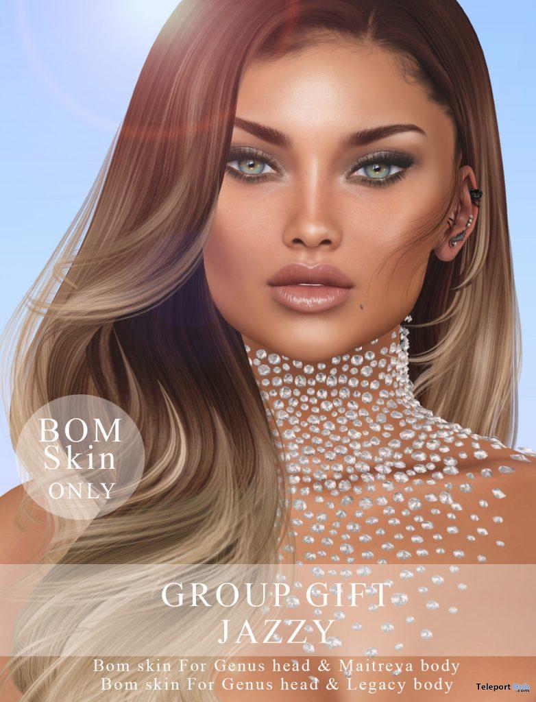 Jazzy BOM Skin May 2020 Group Gift by WOW Skins - Teleport Hub - teleporthub.com