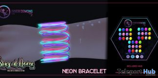 Neon Bracelet May 2020 Gift by Inner Demons - Teleport Hub - teleporthub.com