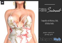 Rebecca Swimsuit Palm May 2020 Group Gift by Paper.Sparrow - Teleport Hub - teleporthub.com