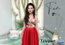 Tian Outfit May 2020 Group Gift by Belle Epoque - Teleport Hub - teleporthub.com