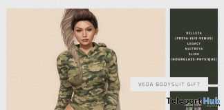 Veda Bodysuit Fatpack May 2020 Group Gift by [WellMade] - Teleport Hub - teleporthub.com