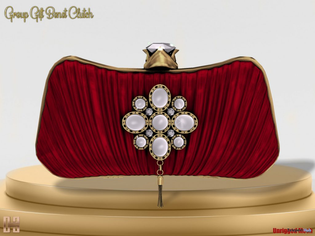 Benet Clutch Red Mother's Day 2020 Group Gift by Hilly Haalan - Teleport Hub - teleporthub.com