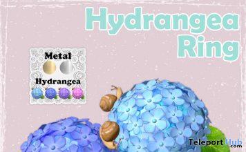 Hydrangea Ring May 2020 Group Gift by MINDS @ SaNaRae Event - Teleport Hub - teleporthub.com