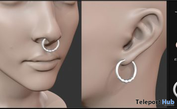 Earrings & Nose Piercing June 2020 Group Gift by Candy Crunchers - Teleport Hub - teleporthub.com