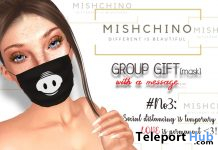 Anti-Virus Mask May 2020 Group Gift by Mishchino INC. - Teleport Hub - teleporthub.com