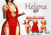 Helena Set Red May 2020 Group Gift by KAVAK - Teleport Hub - teleporthub.com