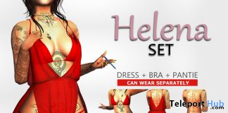 Helena Set Red May 2020 Group Gift by KAVAK - Teleport Hub - teleporthub.com
