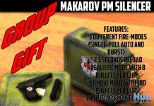 Makarov PM Silencer May 2020 Group Gift by Hunter and Killer Corp - Teleport Hub - teleporthub.com