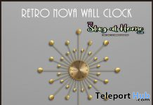 Retro Wall Clock May 2020 Gift by Demimonde - Teleport Hub - teleporthub.com